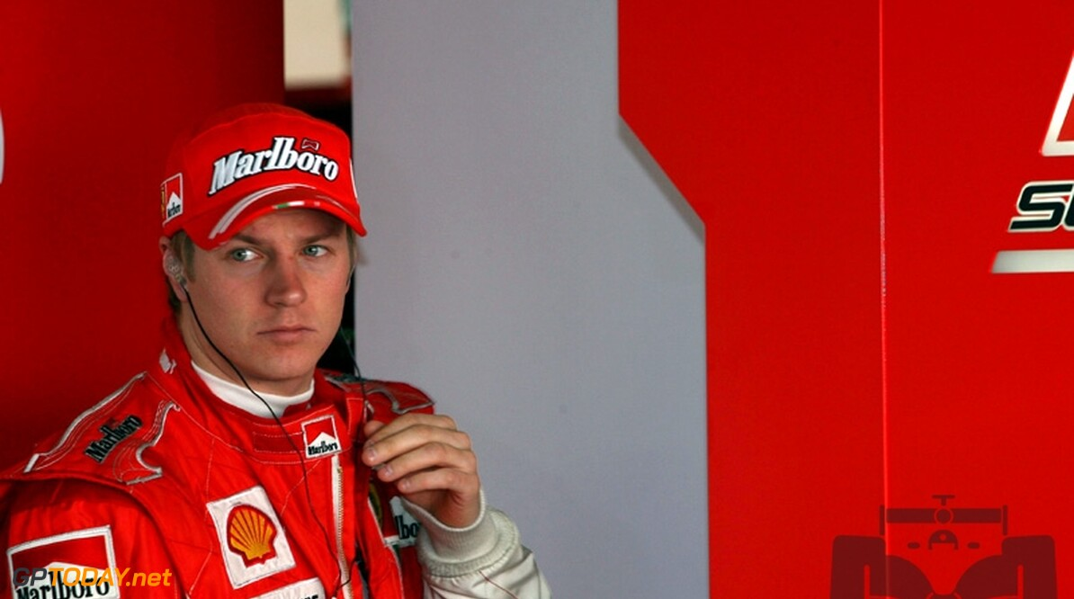 Raikkonen had in Bahrein last van oorinfectie