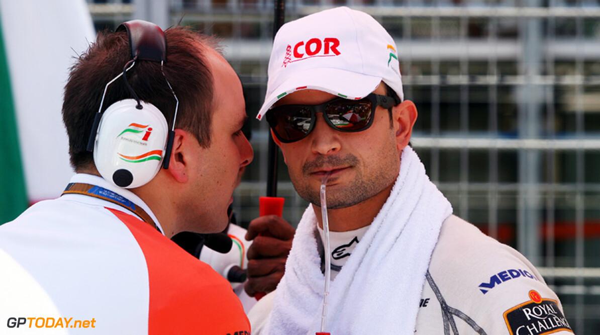 Force India wil contract Liuzzi afkopen voor Hülkenberg of Di Resta