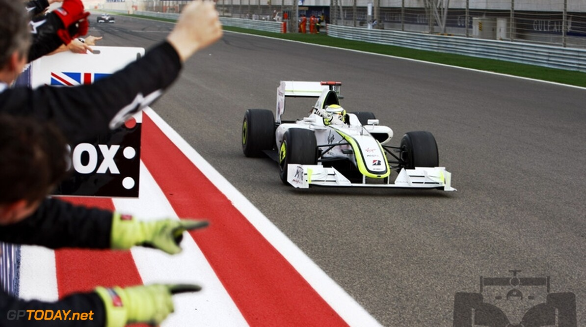 Jenson Button wint Grand Prix van Bahrein