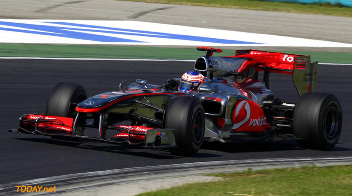 """Jenson Button: """"Crash was een enorme klap"""""""