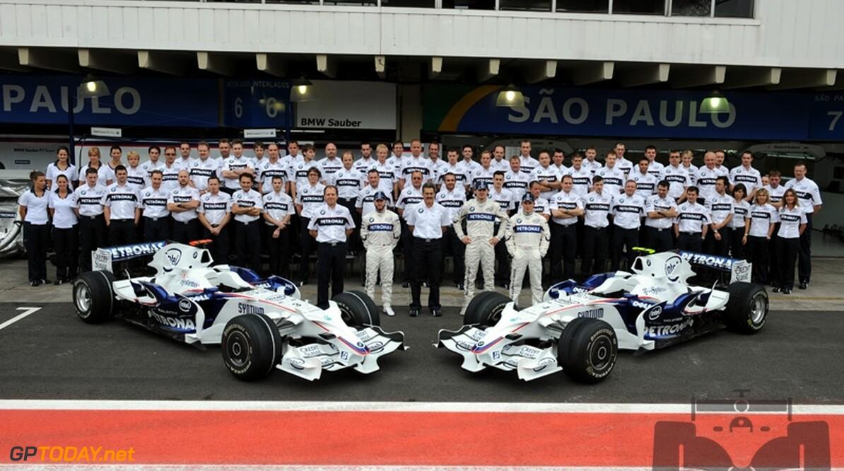 BMW Sauber gaat voor kampioenschap in 2009