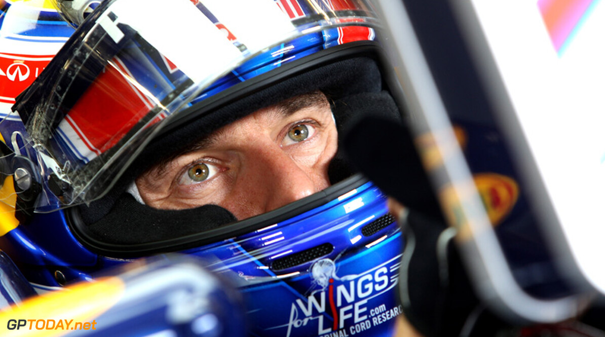 Red Bull Racing RB8 beleeft shakedown in handen van Webber