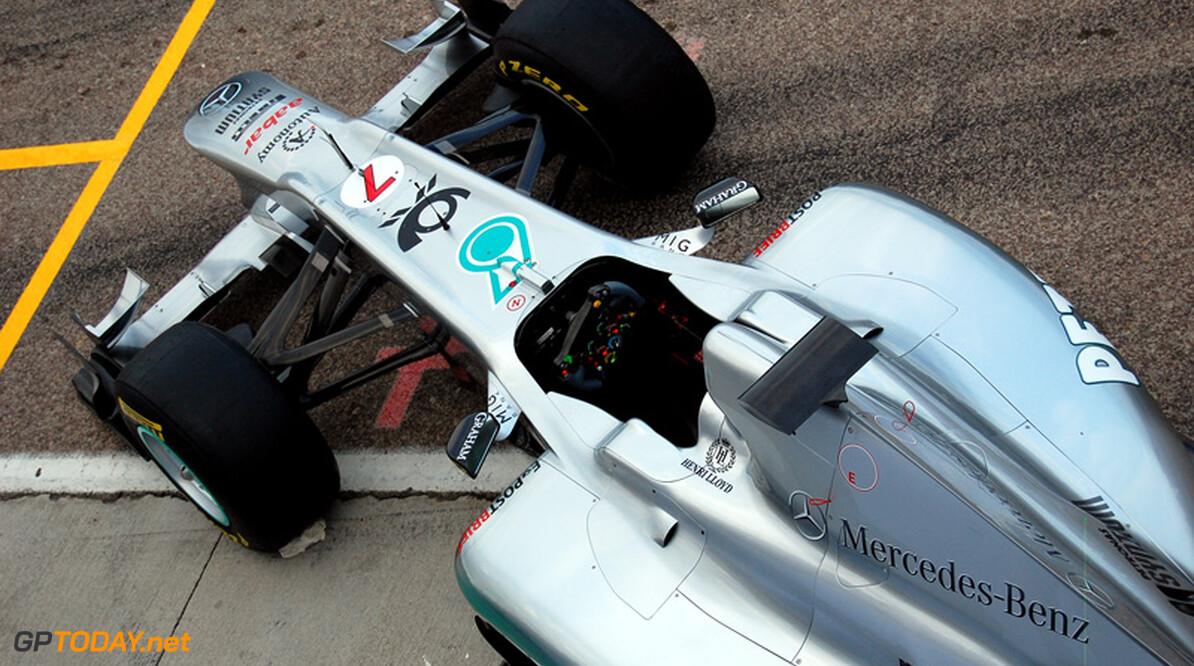 """Mercedes: """"Vierde was wat we verdienden in 2010, nu moet het beter"""""""