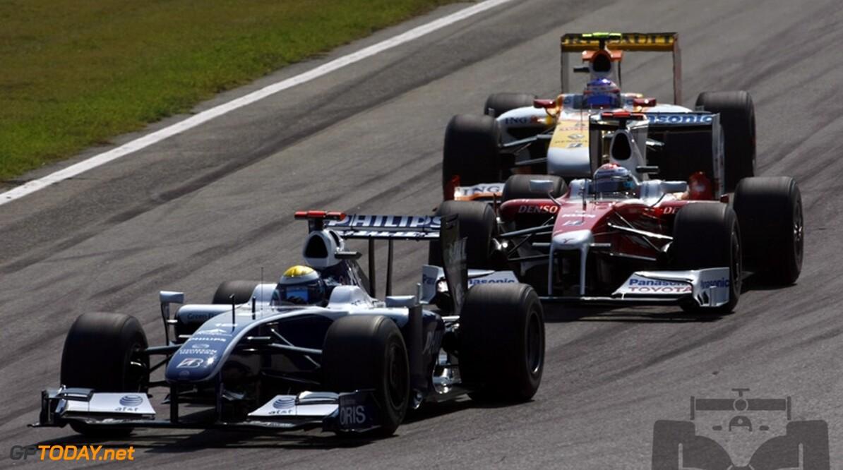 Williams introduceert in Singapore upgrades voor FW31