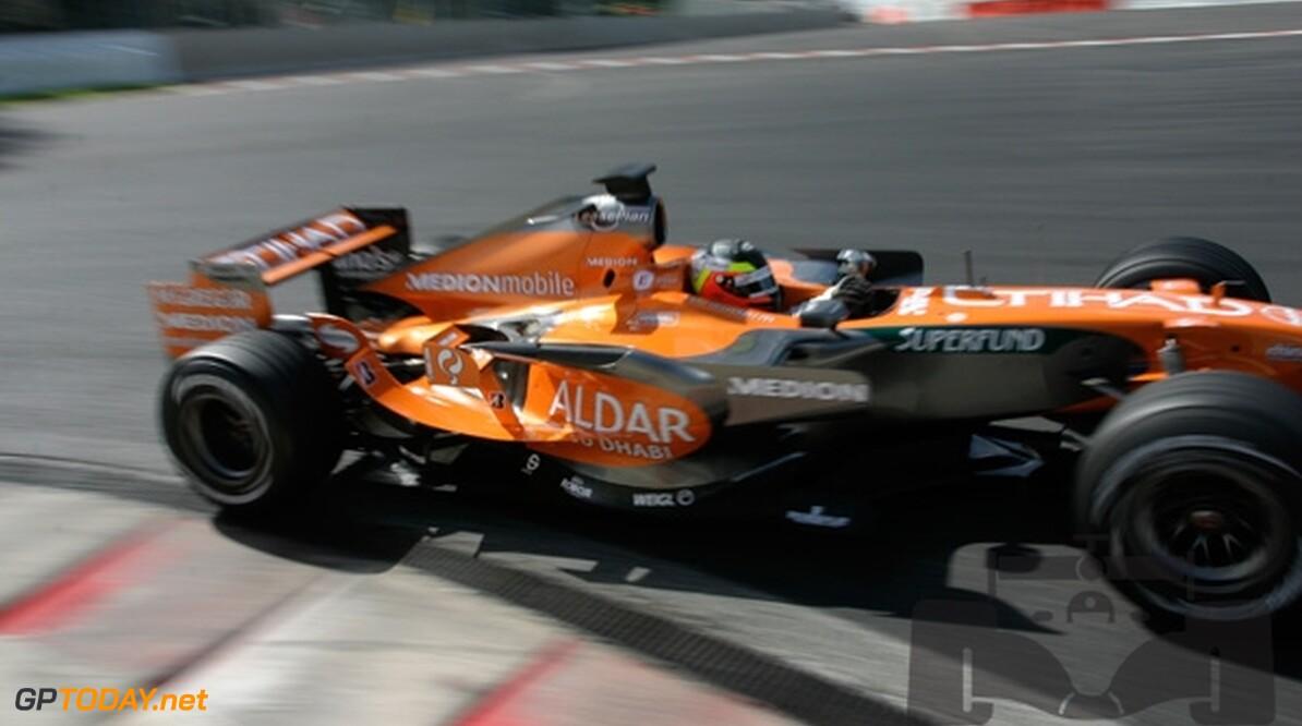Spyker verwacht meer van B-auto op Spa-Francorchamps
