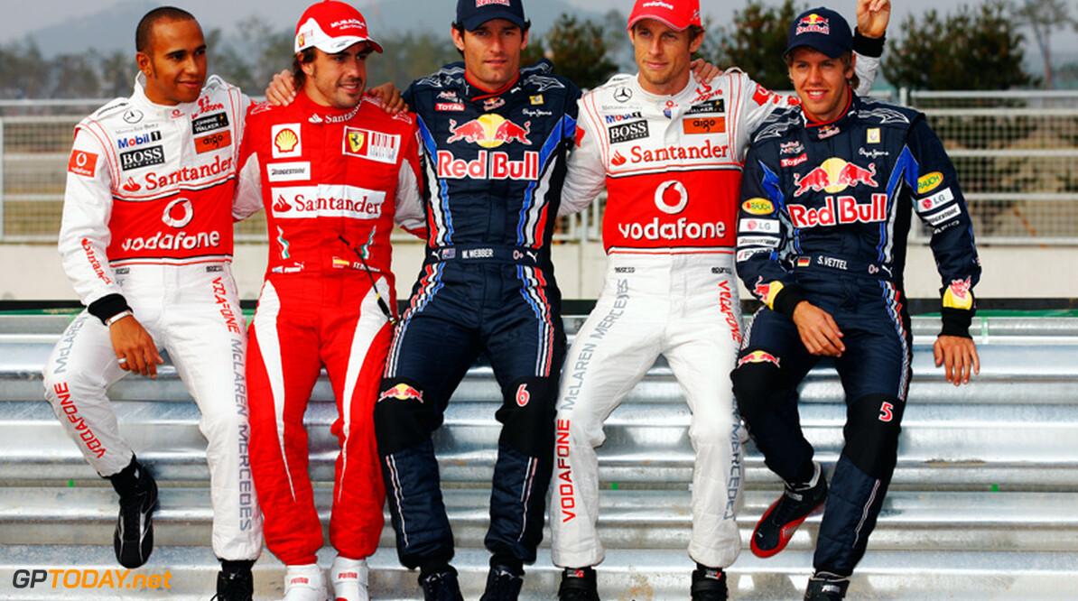 """Verstappen: """"Alonso, Webber en Hamilton strijden voor hoofdprijs"""""""