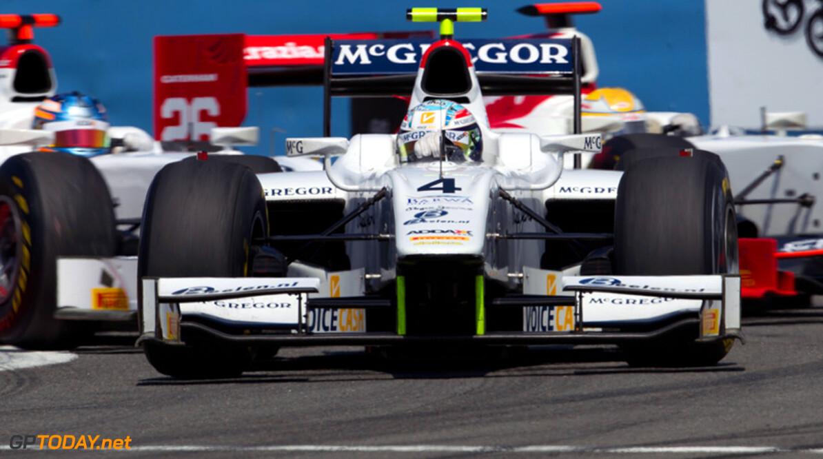 Bianchi en Van der Garde nestelen zich op eerste startrij in Spanje