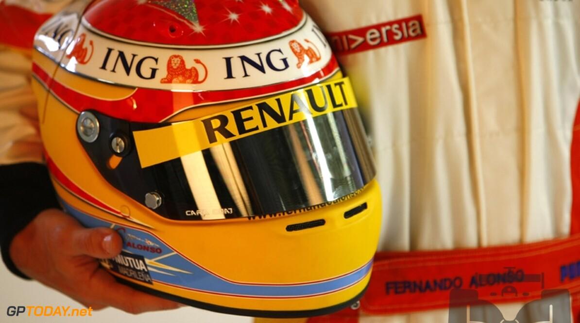 Nieuw helmdesign voor Fernando Alonso