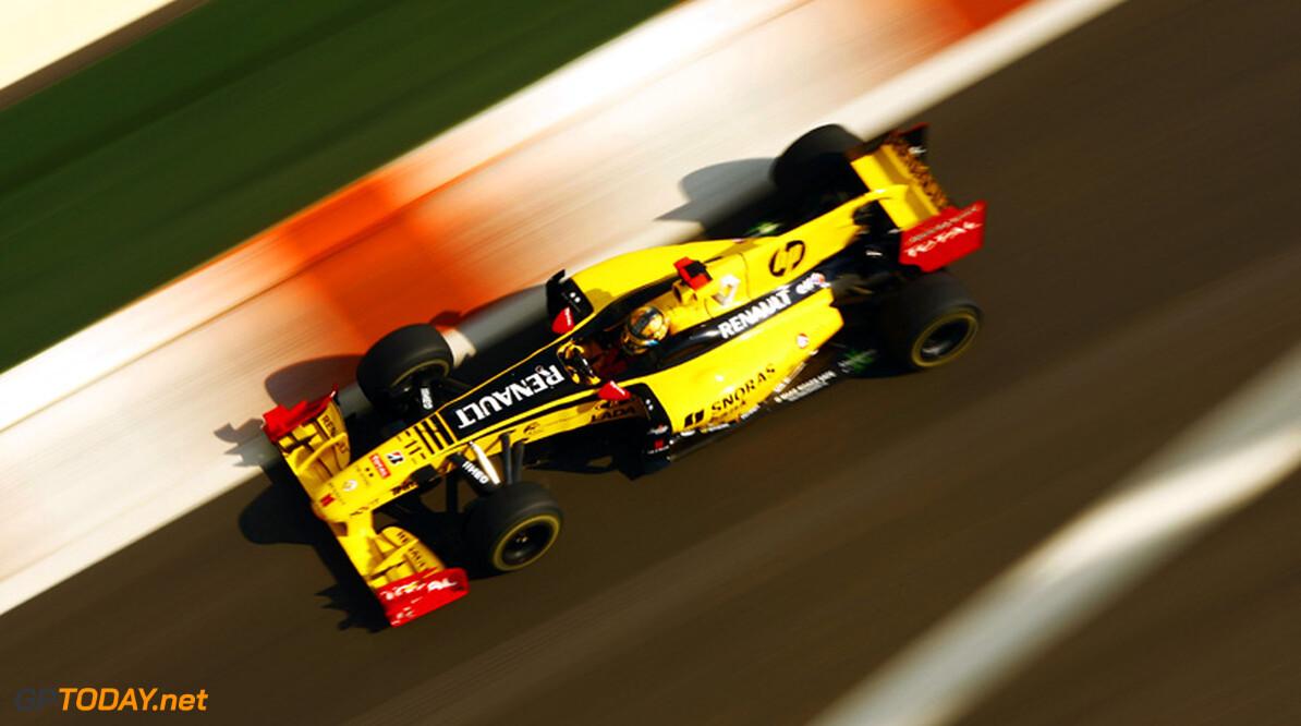 Renault aast op zeges en top drie notering voor 2011