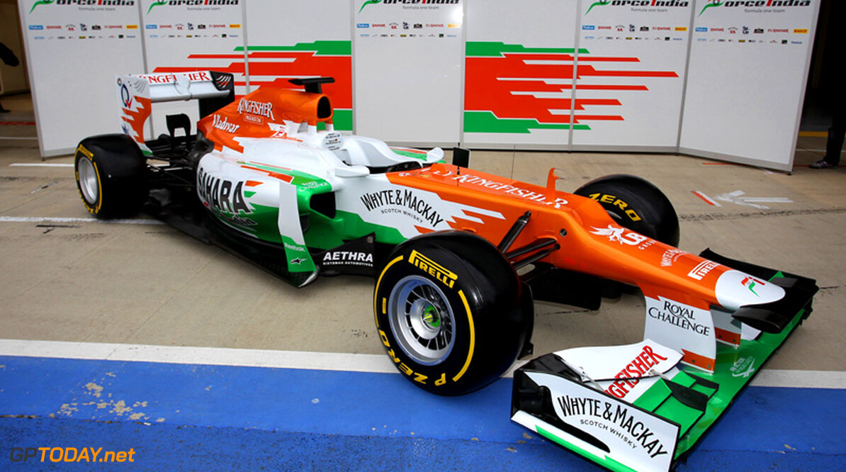 Force India onthult nieuwe auto op 1 februari in Silverstone