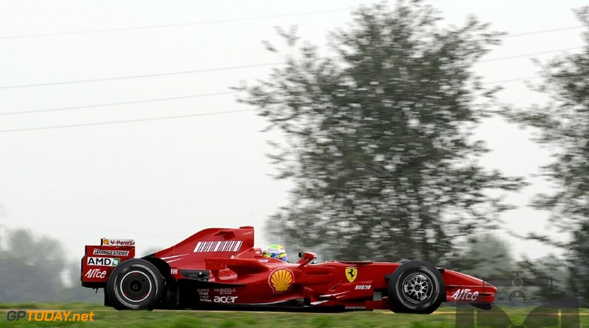 Massa houdt goed gevoel en pijnlijke nek over aan test met F2007
