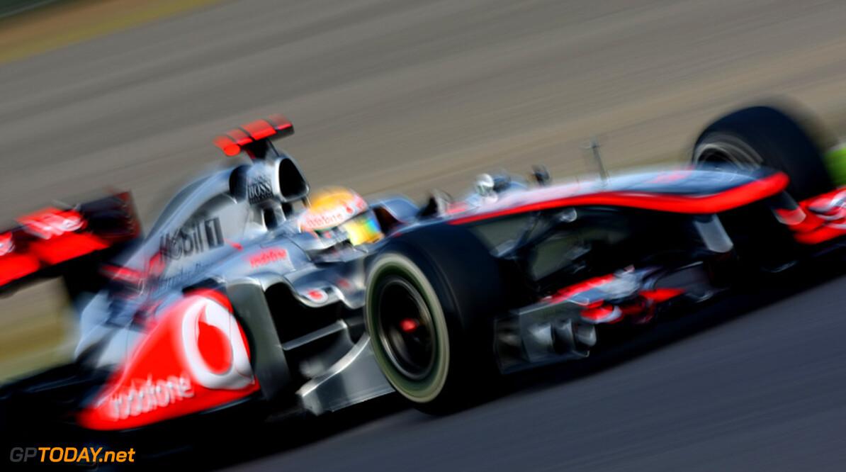 """Lewis Hamilton: """"Massa? Die heb ik niet gezien"""""""