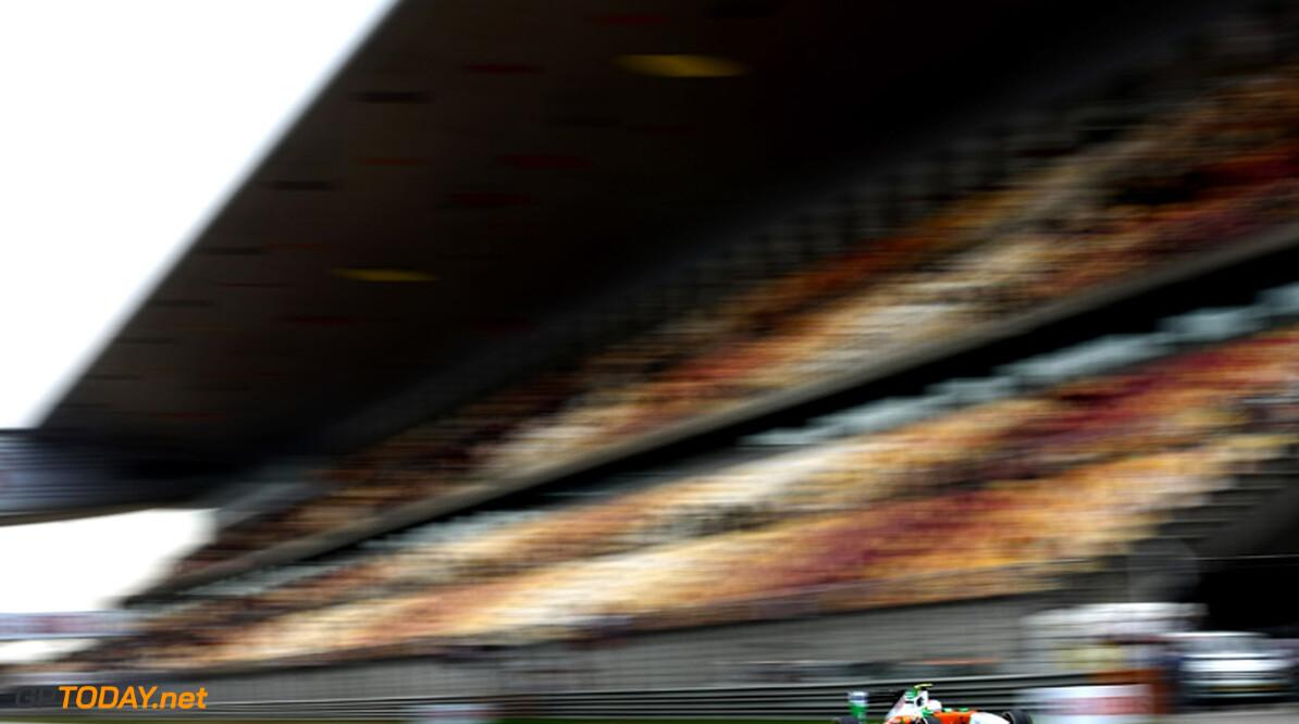2011 Chinese Grand Prix - Saturday Shanghai International Circuit, Shanghai, China 16th April 2011 Paul di Resta (GBR), Force India F1 Team World Copyright: Andrew Hone / Formula Press / LAT Photographic