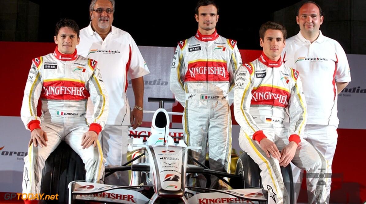 Force India bevestigt Fisichella en Sutil voor 2009