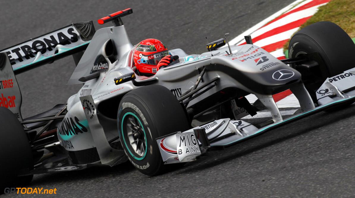 """Schumacher: """"Auto's bij Mercedes GP zijn niet altijd hetzelfde"""""""