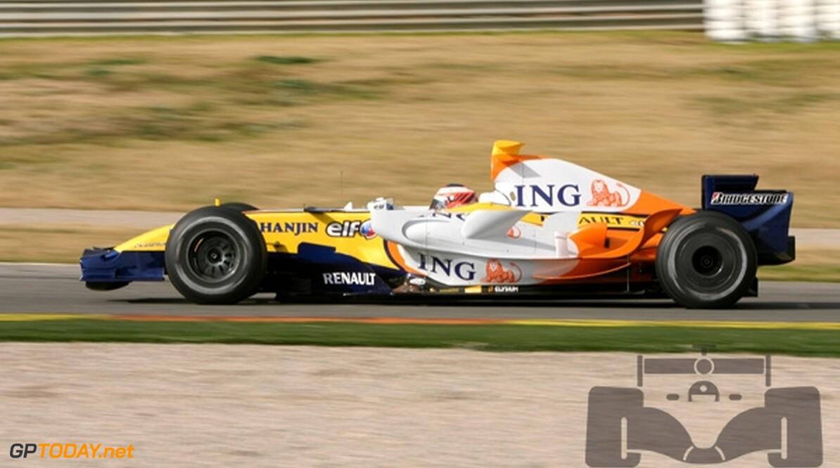Renault zeer tevreden over Heikki Kovalainen
