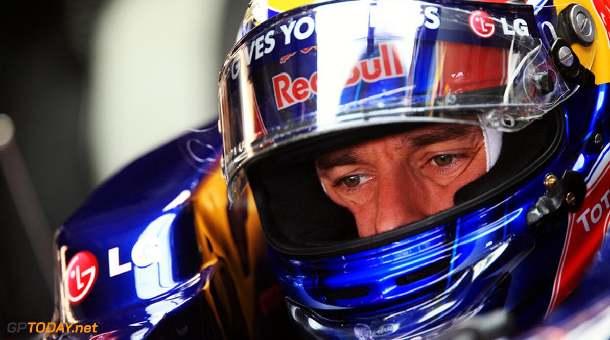 Mark Webber niet bezorgd over rondetijden in trainingen