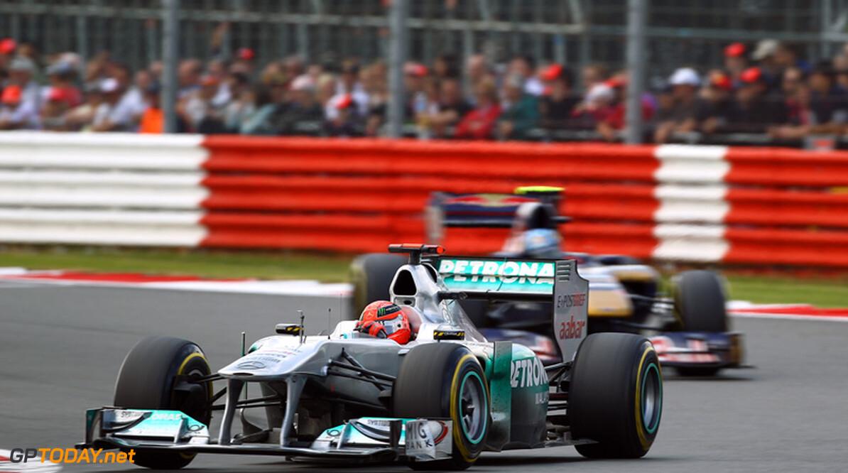 """Ecclestone: """"Treurig om superman Schumacher te zien worstelen"""""""