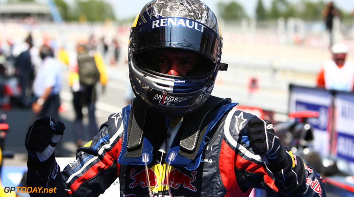 Sebastian Vettel pakt overwinning op Valencia Urban Street Circuit