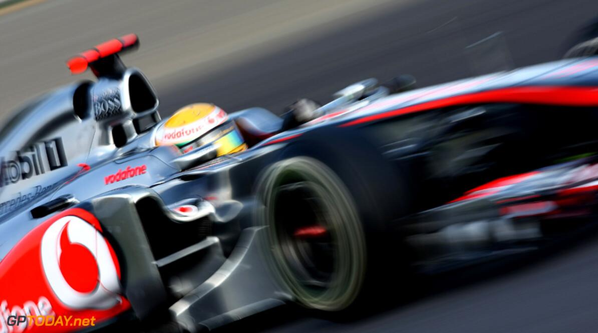"""Lewis Hamilton: """"Jawel, ik ben blij"""""""