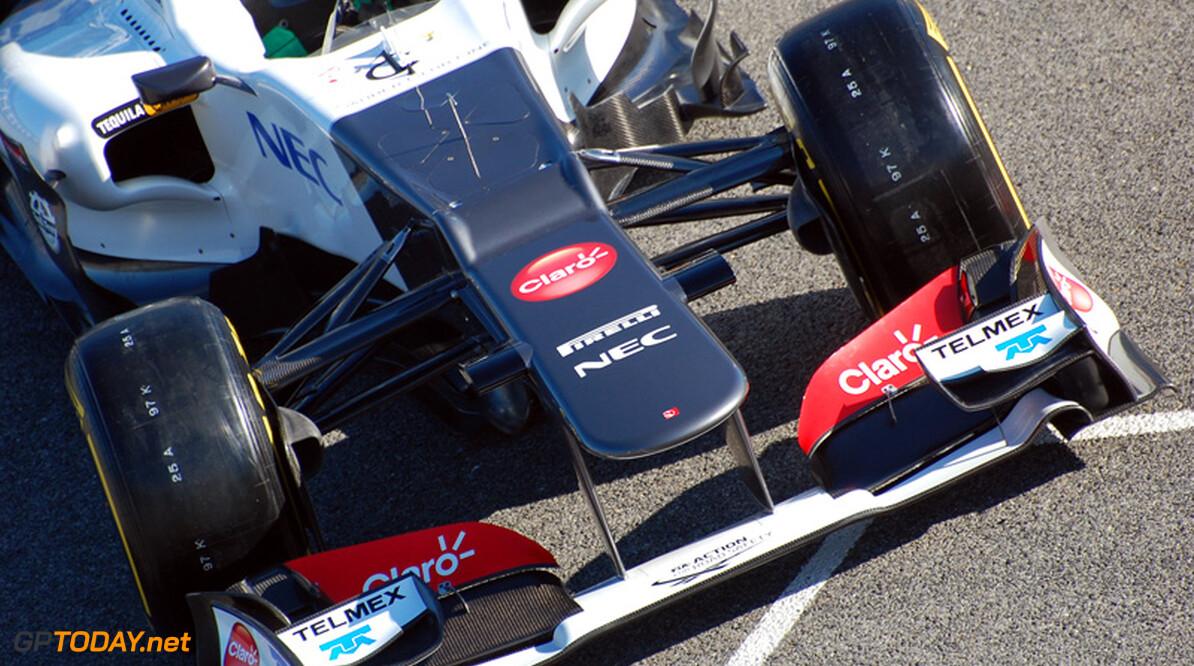 Sauber pakt kwalificatieproblemen aan met nieuwe ophanging