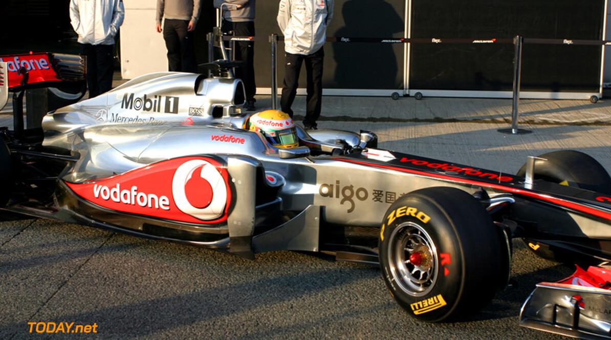 McLaren probeert in Jerez voorwaartse uitlaatmondingen uit