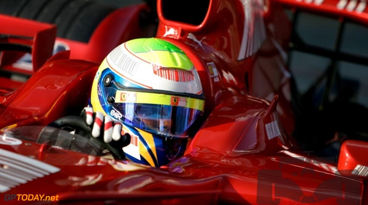 Felipe Massa eindigt derde dag als snelste