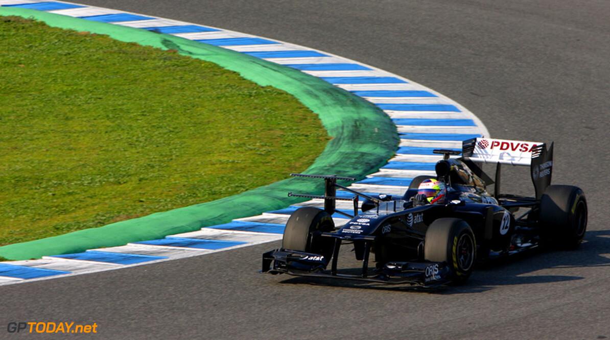 Williams bagatelliseert kinderziektes van FW33 in Jerez