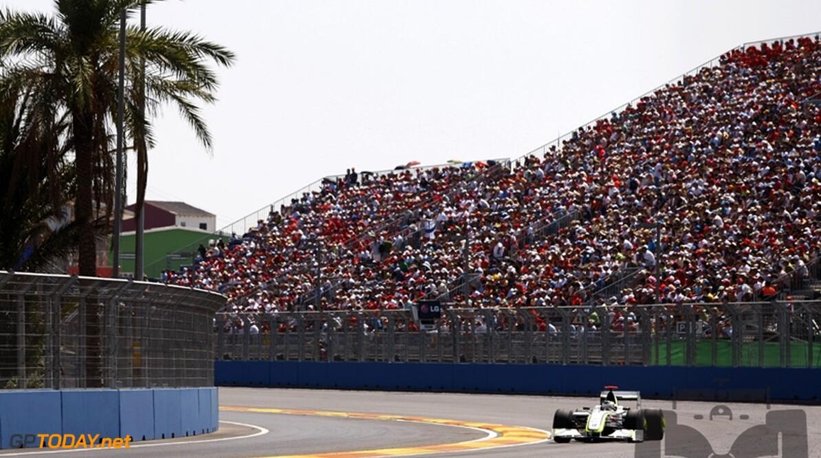 Valencia verkoopt minder dan 40.000 kaarten voor Grand Prix