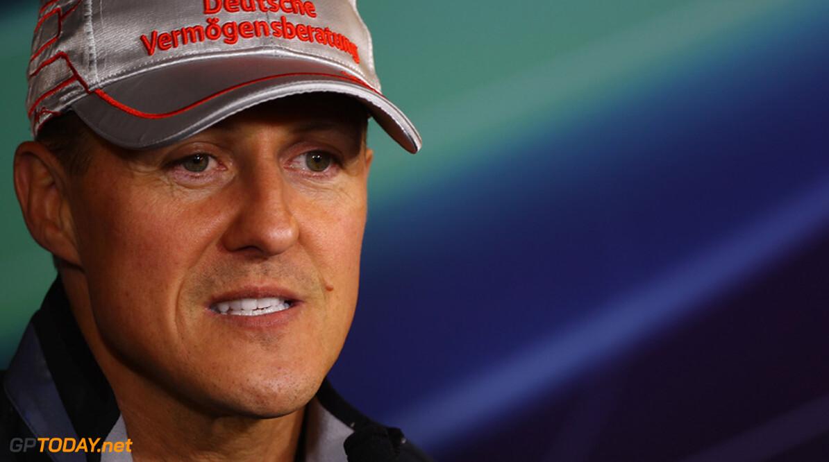 """Michael Schumacher: """"Ik ben veel meer relaxed dan vroeger"""""""