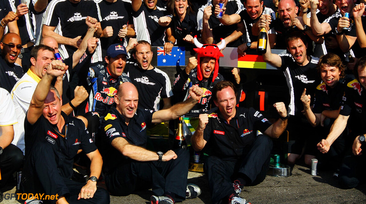 Personeel Red Bull Racing in trek bij andere teams