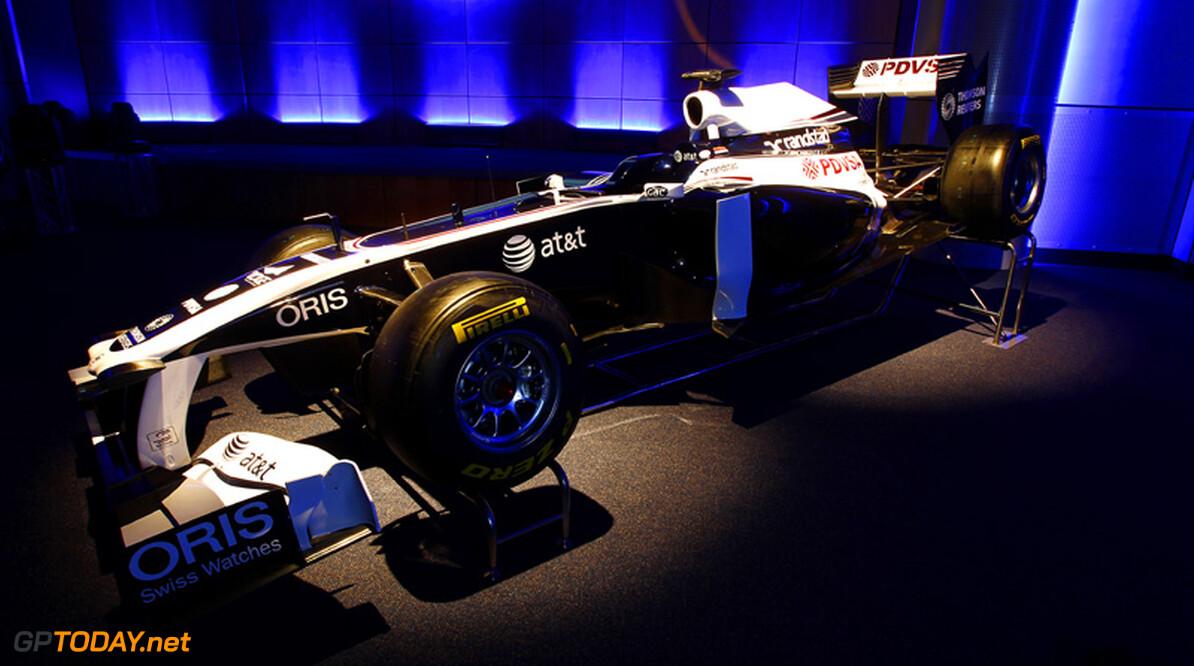 <b>Foto's:</b> Williams toont blauw en witte livery voor FW33