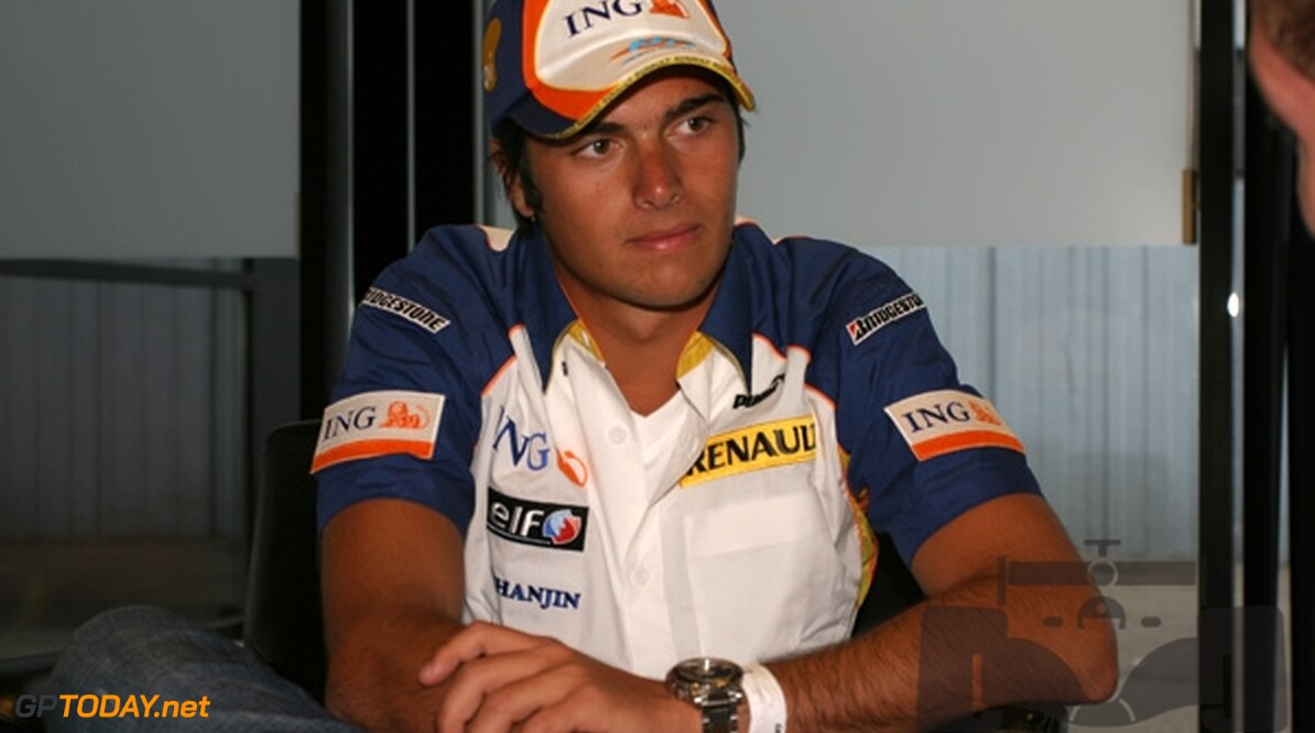 Nelson Piquet Junior test drie dagen voor Renault in Jerez