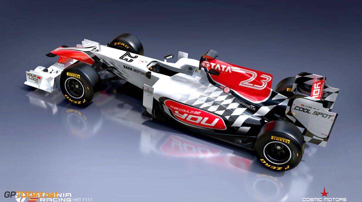 Nieuwe auto Hispania Racing klaar voor debuut in Barcelona