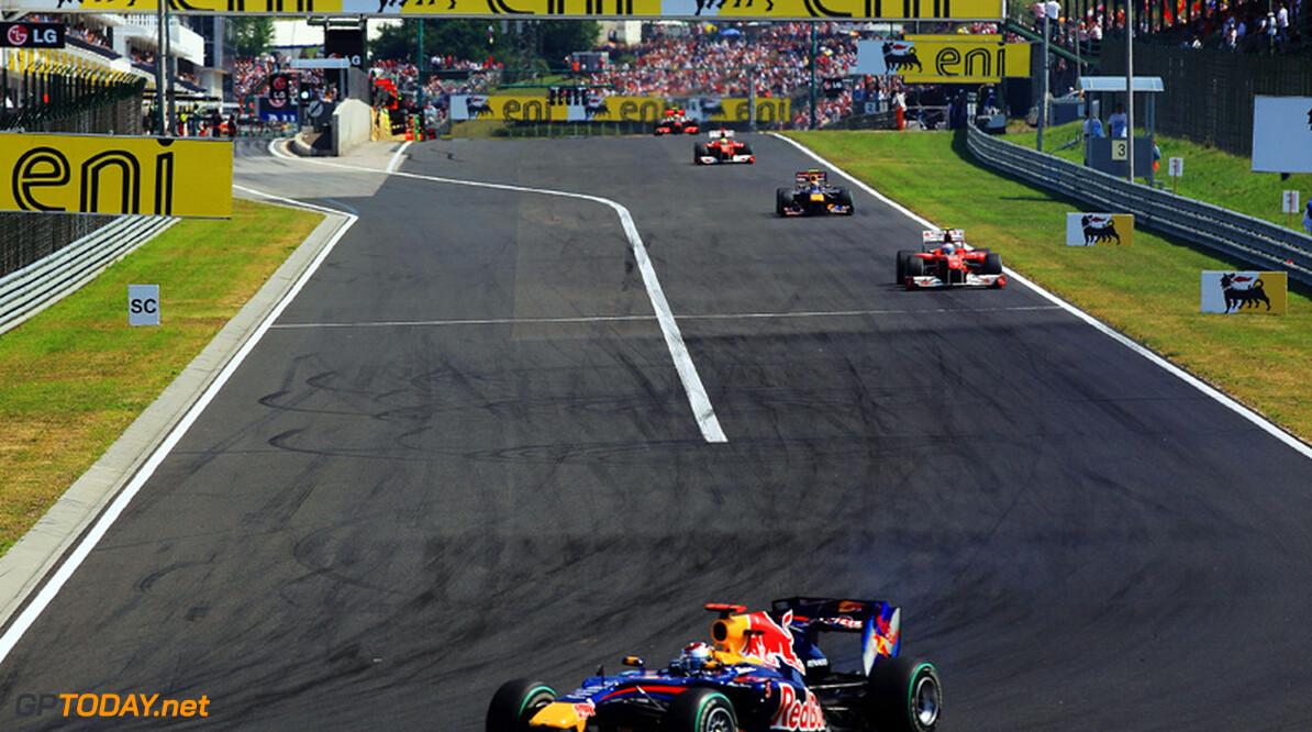 Red Bull Racing probeert Vettel uit het dal te tillen