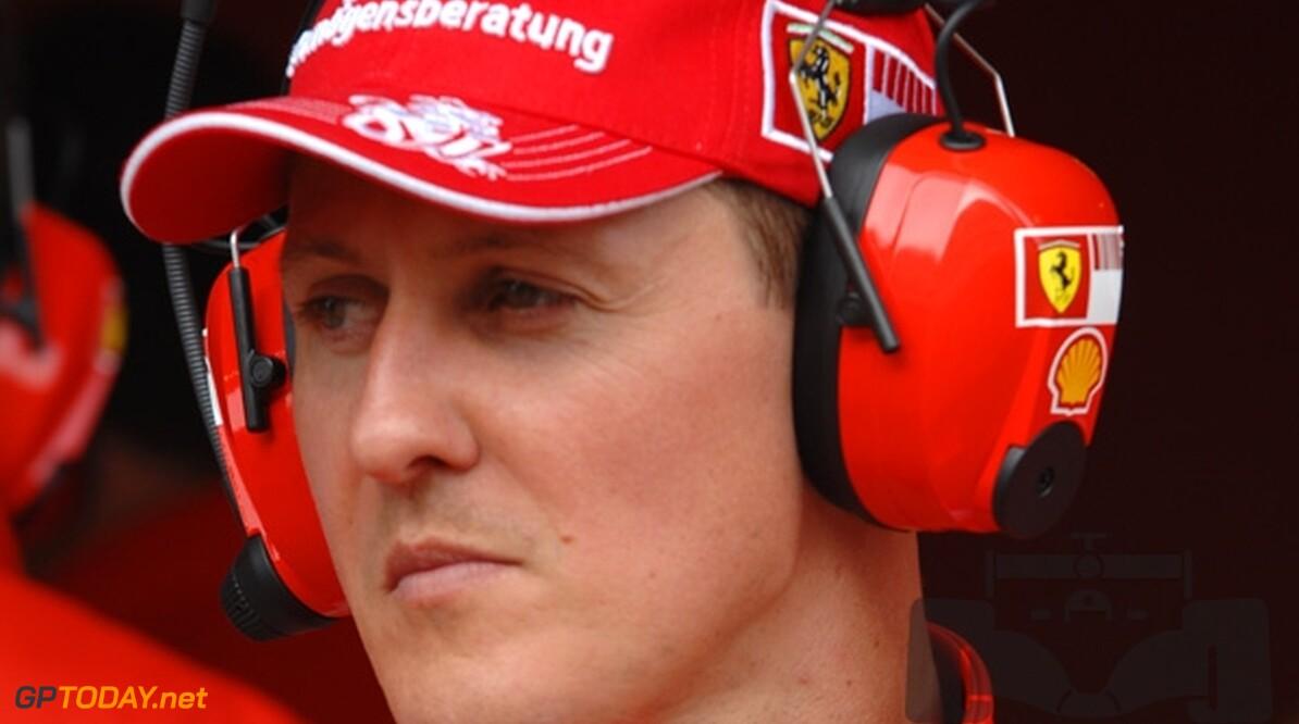 Schumacher slaat terug naar bittere Barrichello