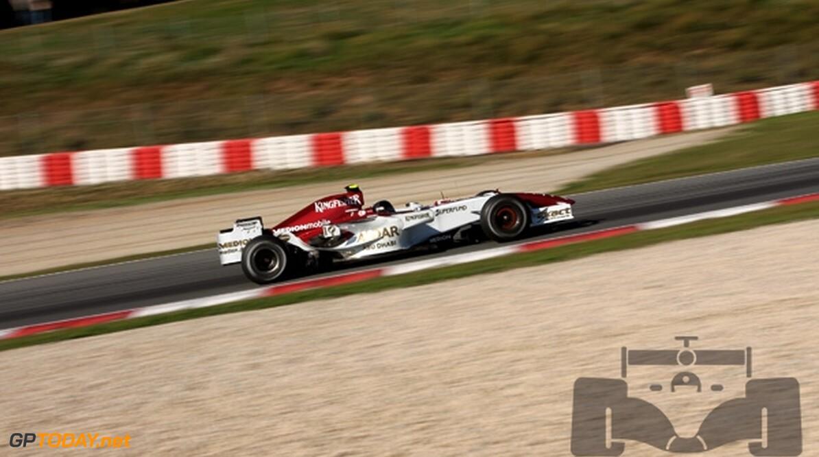 Liuzzi test waarschijnlijk ook in Jerez voor Force India