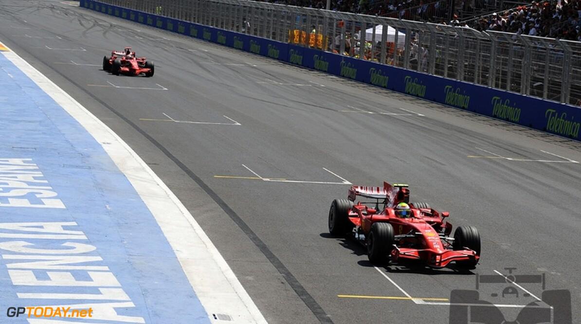 Ferrari-president heeft geen klachten over Massa en Raikkonen