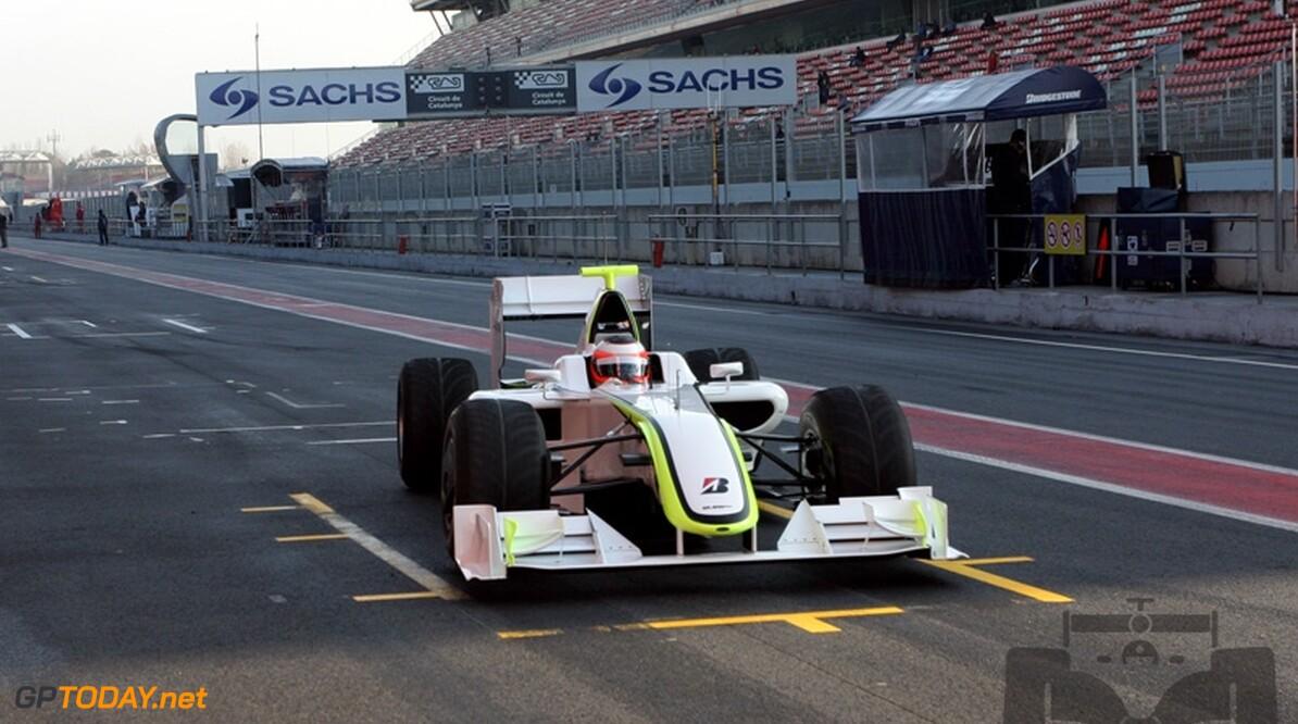 Brawn GP krijgt achterste plek in de pitstraat