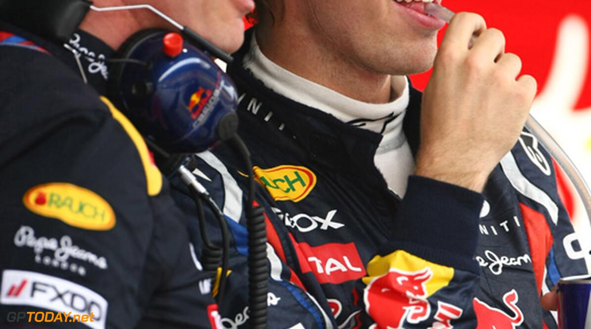 2011 Chinese Grand Prix - Friday Shanghai International Circuit, Shanghai, China 15th April 2011 Sebastian Vettel (GER), Red Bull Racing World Copyright: Andrew Hone / Formula Press / LAT Photographic