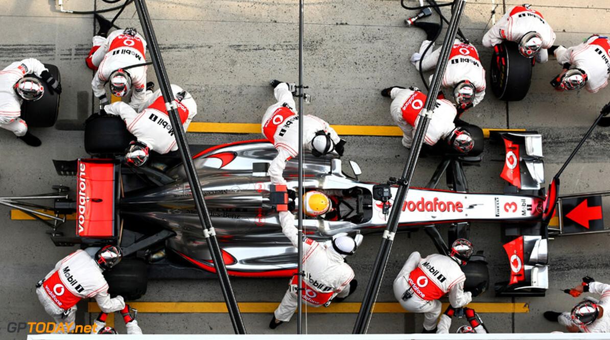 2011 Chinese Grand Prix - Sunday Shanghai International Circuit, Shanghai, China 17th April 2011 Lewis Hamilton (GBR), McLaren Mercedes World Copyright: Andrew Hone / Formula Press / LAT Photographic
