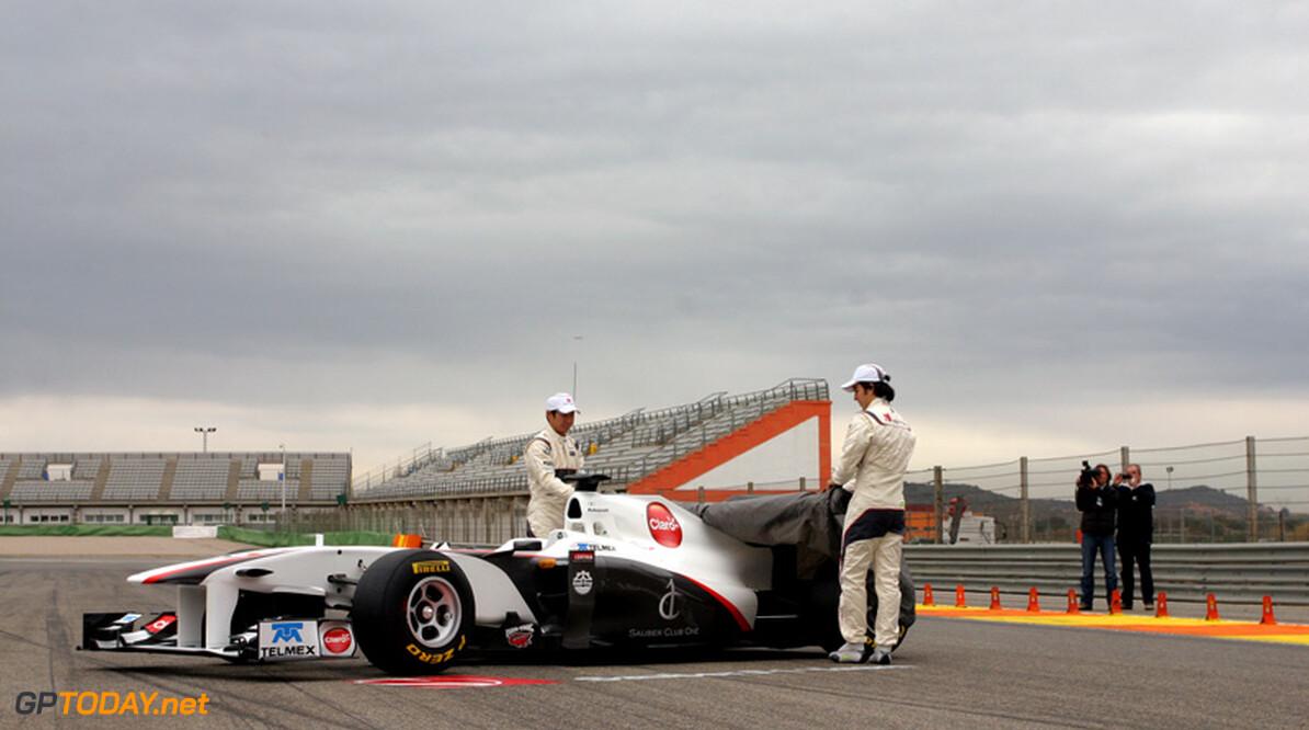 Sauber presenteert nieuwe C31 op 6 februari in Jerez