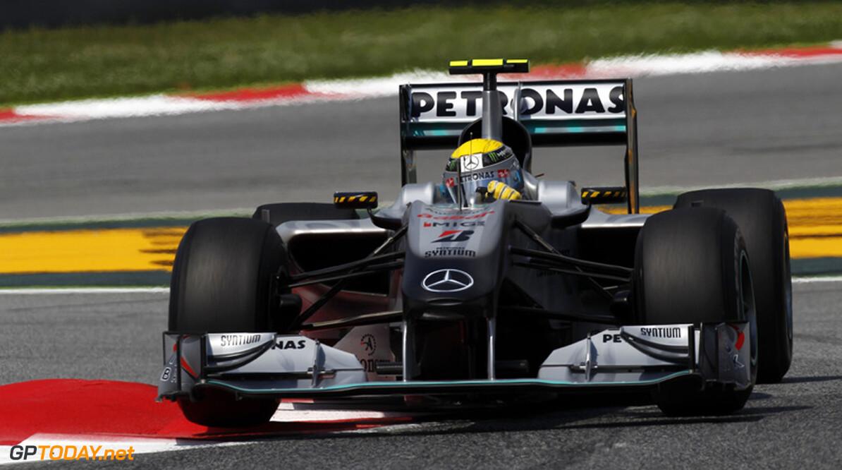 """Rosberg: """"Mercedes GP was heel langzaam en dan vooral ik"""""""