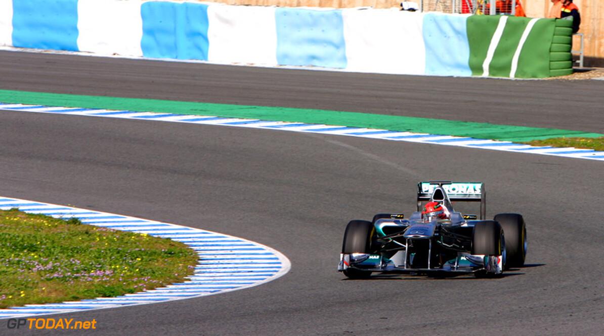 """Schumacher: """"Titelwinst in 2011 wordt een moeilijk verhaal"""""""