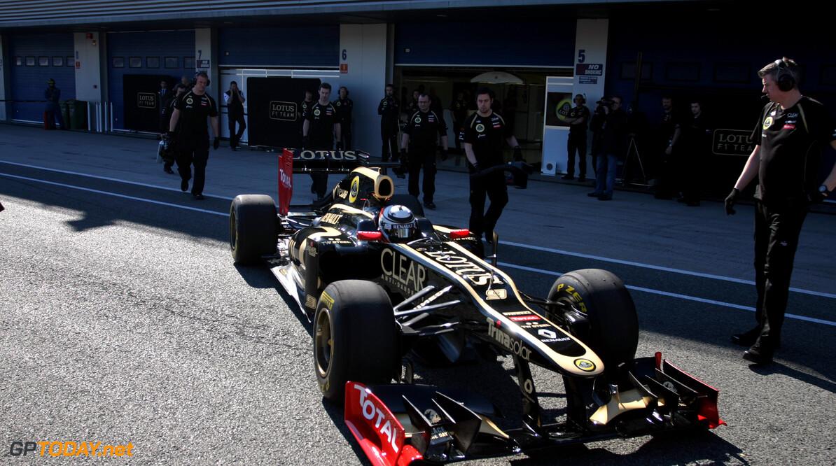 Jerez dag 1: Lotus E20 bij debuut sneller dan Sauber C31