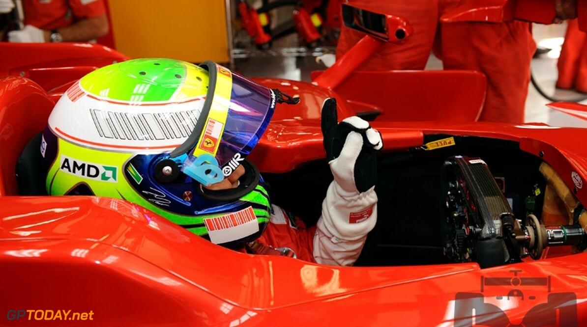 Ferrari-coureurs vestigen hoop op de race