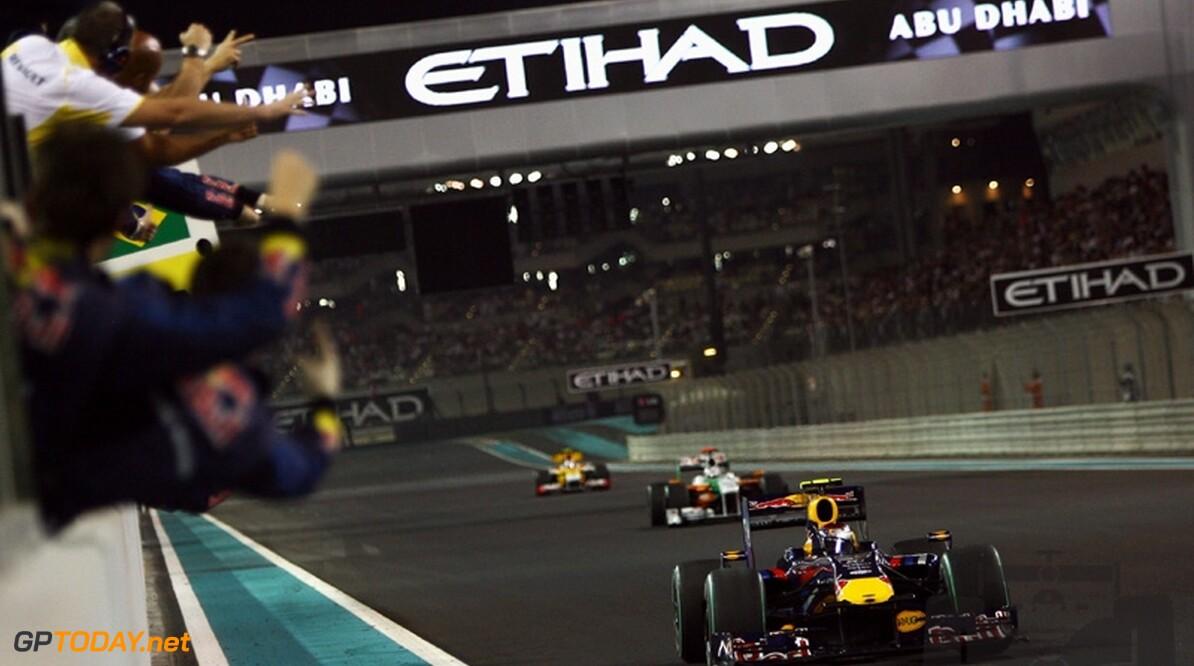 Vettel wint in eerste Grand Prix van Abu Dhabi