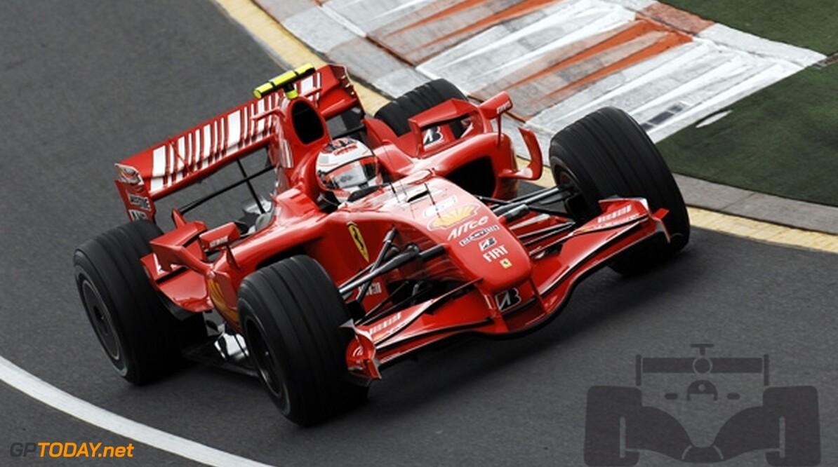 VT1: Ferrari snelst, McLaren laat het afweten