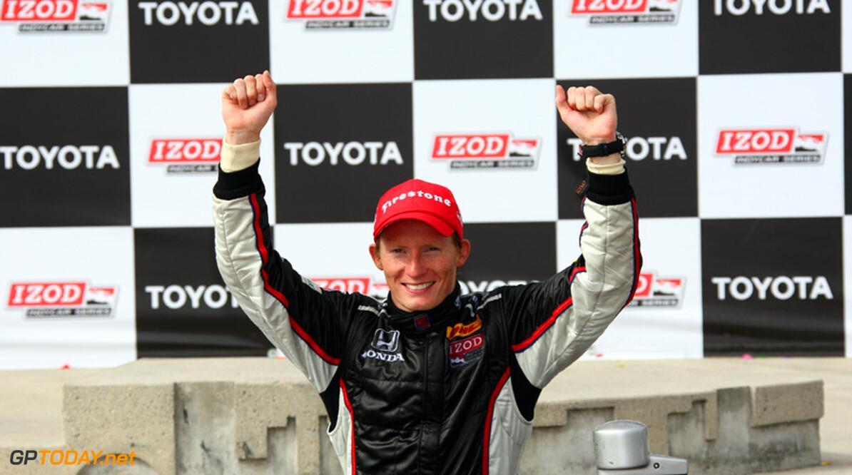 Mike Conway voor 2012 in zee met AJ Foyt Racing