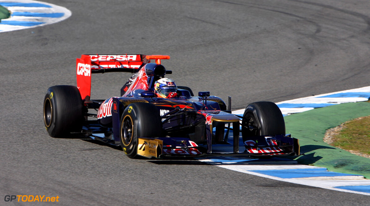 Toro Rosso lost oververhitting achterwielophanging STR7 op